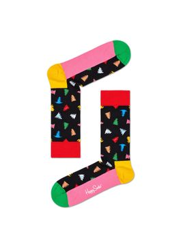 MEDIA-CASUAL-TREES-AND-TREES-SOCK-MULTICOLOR