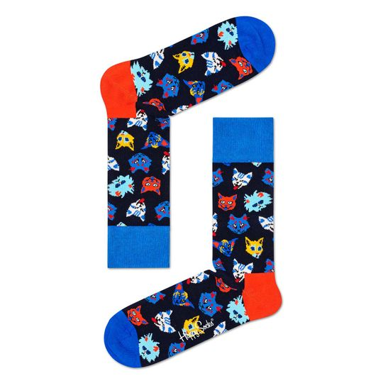 MEDIA-CASUAL-BLUE-SILLY-CATS-MULTICOLOR